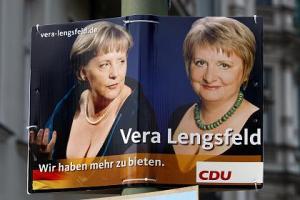 Vera Lengsfeld mit Angela Merkel