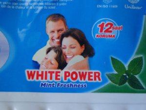 White Power Unilever